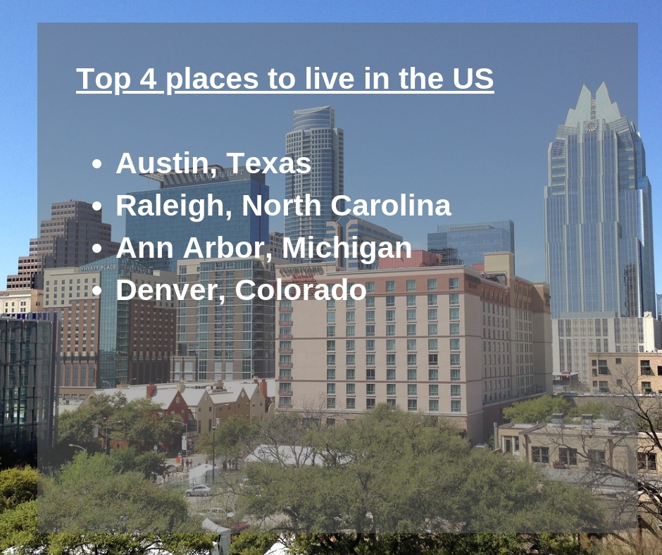 Here Are 4 Cities That Are Great Places To Live