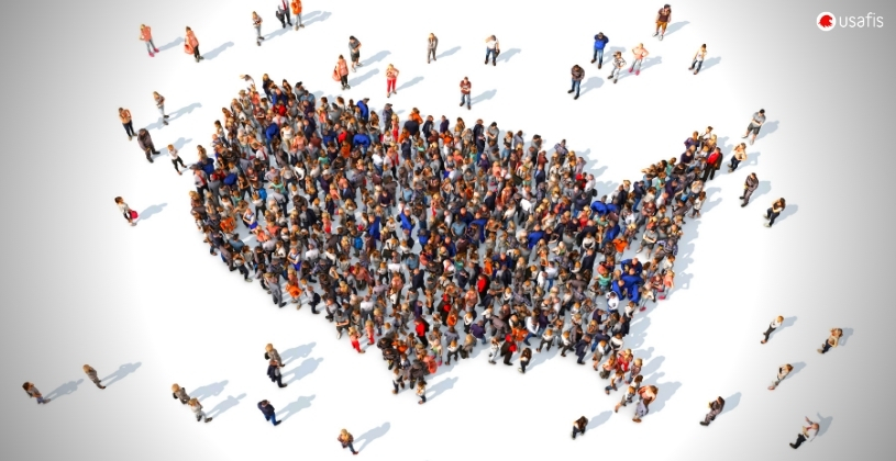 USAFIS: US Map Immigrants